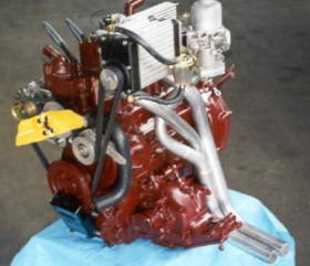 HP Supercharger Kit on engine WB Image copyright (c) 2011.