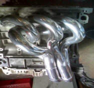 HP Hi-Flow Headers for MG ZR Image copyright (c) 2014.