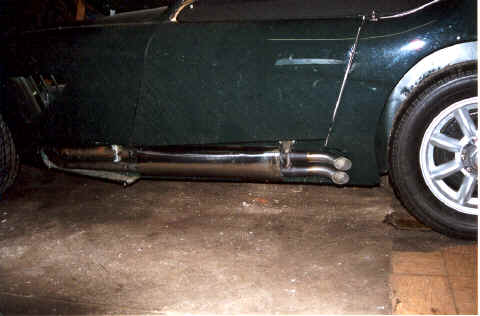 HP Hi-Flow Muffler for Healey engines Image copyright (c) 2011.